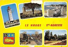 BR1171 Sainte Adresse Le phare Le port Oceane Le Havre  france