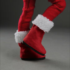 Dollmore 1/4 BJD Scale Size MSD - Christmas St Boots (Red) shoes