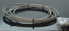 FIBRAX UNIVERSAL GEAR CABLE KIT S/STEEL WIRES GREY FOR BIKE MADE IN UK   fcg2101