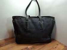 Coach #5458 Black Micro Fiber Business/School Bag, XXL, VERY ROOMY, STYLISH