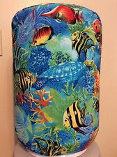 AQUARIUM FISH TANK REEF 5 GALLON WATER COOLER BOTTLE COVER KITCHEN DECORATION