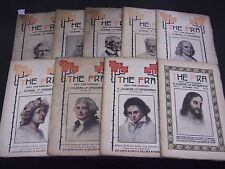 1908 THE FRA HUBBARD MAGAZINE FIRST 9 ISSUES - JOURNAL OF AFFIRMATION - O 1217