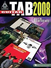 Guitar Tab 2008 (Guitar Recorded Versions)-ExLibrary