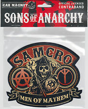 Sons of Anarchy ~ Samcro Men of Mayhem Car / Truck Magnet ~ Licensed ~ BRAND NEW
