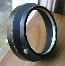 Canon wide angle Lens hood  60mm clamp on(over  58mm filters) W-60