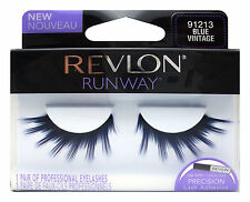REVLON RUNWAY FALSE EYE LASH EYELASHES EYELASH 91213 BLUE VINTAGE