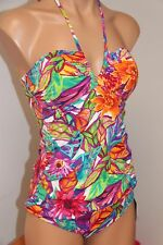 NWT Ralph Lauren Swimwear Bandeau Tankini 2pc Set Size 12 Multi