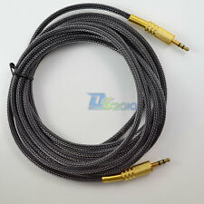 Pro 10ft 3.5mm 3m Stereo Male to Male Gold IPOD AUX Audio MP3 Extension Cable