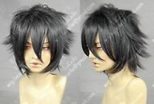 Final Fantasy Versus13 Short Cosplay Dark Gray Wig