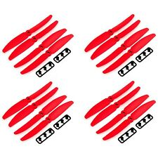 8 pairs 5x3 5030 Nylon Prop Propeller CW/CCW for 250 mini Quadcopter RED se