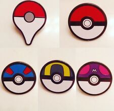 Pokemon Pokeball Pins Badges Set Of 5 Go Pins Kanto