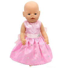 Cute Pink Wear dress fit for 43cm Baby Born zapf(only sell clothes) b11