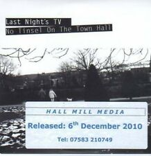 (BI485) Last Night's TV, No Tinsel On The Town H- DJ CD