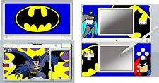 nintendo DS Lite - BATMAN CARTOON - 4 Piece Decal / Sticker Skin