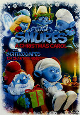 USED  FAMILY  DVD // SMURFS // A CHRISTMAS CAROL // 22min