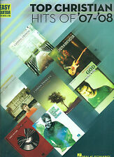 TOP CHRISTIAN HITS 07-O8 EASY GUITAR/VOCAL MUSIC BOOK ON SALE NEW