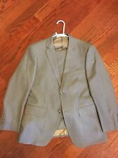 Angelo Rossi Grey Suit 38R Hand Tailored Designed In France