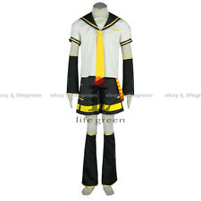 VOCALOID Kagamine LEN  Uniform COS Clothing Cosplay Costume
