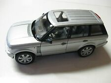 1:24 SCALE WELLY LAND ROVER/RANGE ROVER DIECAST SUV W/O BOX