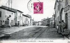 CPA 54 COLOMBEY LES BELLES RUE CARNOT ET LA POSTE  (cpa animée