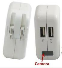 HD 1080P USB Wall Charger Camera Mini SPY Hidden Video Camcorder DVR Motion Cam