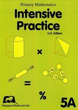 Singapore Math Primary Math Intensive Practice 5A-FREE Expedited Upgrade with$45