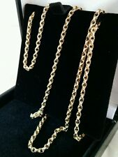 A Victorian Yellow gold decorative link Guard / Muff Chain.Hallmarked 9ct. C1900