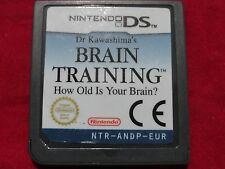 BRAIN TRAINING FROM DR KAWASHIMA'S NINTENDO DS DS LITE DSI 3DS