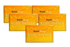 ROYALE KOJIC PAPAYA WHITENING SOAP X 5 PCS