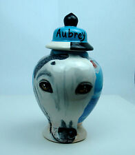 Custom ANY BREED Pet DOG urn cremation GREYHOUND dog hand painted dogs memorial