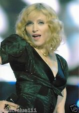 MADONNA  PHOTO UNRELEASED LIVE EARTH LONDON 12 INCH x 8 INCH UNIQUE IMAGE COLOUR