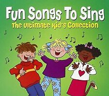 FUN SONGS TO SING - ULTIMATE KID'S COLLECTION  3 CD SET FREE POST IN UK