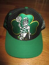 Vintage Logo Athletic BOSTON CELTICS Leprechaun FRT (Adjustable Snap Back) Cap