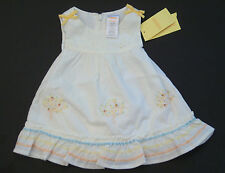 NWT Gymboree Prairie Ranch 0-3 Months Eyelet Peach Apricot Tree Dress