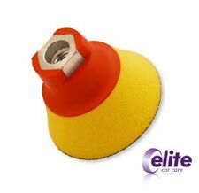 Elite 75mm Professional Ultra Soft Rotary Backing Plate - M14 - For Spot Pads