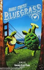 HARDLY STRICTLY BLUEGRASS FESTIVAL SF 2012 POSTER -Les Claypool, Elvis Costello