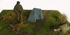 Diorama Zubehör 1x Panzer Sperre Drachenzahn 1:16 Gießkeramik (Gips) (1)