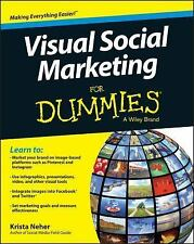 Visual Social Marketing For Dummies, Neher, Krista, Good Book