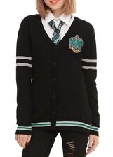 Harry Potter Slytherin House Cardigan Cosplay Size Large New With Tags