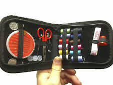 Travel Home Sewing Kit Case Needle Thread Tape Scissor Set Mini Size Handcraft