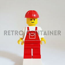 LEGO Minifigures - 1x ovr005 - Construction Worker - Omino Minifig 6667 6662