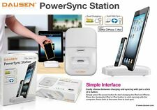 Dausen Dual PowerSync Duo Charging dock for Apple iPhone 4, 4S, iPad, Charger