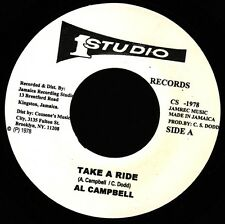 "AL CAMPBELL - TAKE A RIDE (STUDIO 1) ""TRUTH & RIGHTS"" 1968"