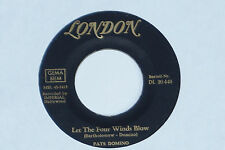"Fats Domino-let the four winds blow - 7"" 45"