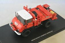 ALERTE 026 - Mercedes Unimog CCF Sides Pompiers 64 1/43
