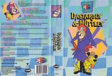 DASTARDLY AND MUTTLEY  EXCELLENT CONDITION  VHS PAL VIDEO   A RARE FIND