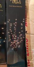 """Floral Lights Curly Natural Branches 48"""""""
