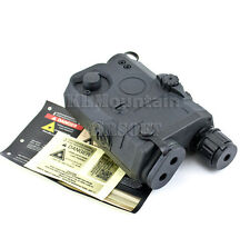 FMA NAVY SEAL/SOF PEQ-15 Style Battery Box with Green Laser / BK (KHM Airsoft)