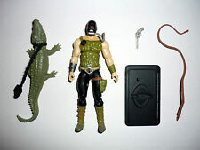 2008 CROC MASTER GI Joe 25th Anniversary Action Figure COMPLETE 3 3/4 C9+ v3