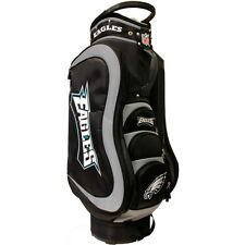 Authentic NFL Philadelphia Eagles Team Golf Medalist Cart Bag + Bonus